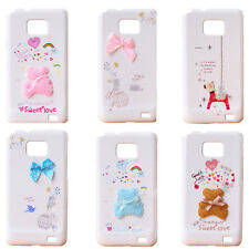 Handbag / 2pcs Full Body Hard Case Cover for Samsung Galaxy S2,S ii,GT- i9100
