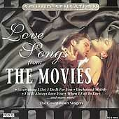 Love Songs from Movies [1995] by The Countdown Singers (CD, Sep-1995, Madacy)