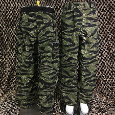 NEW Valken V-Tac SIERRA Combat Tactical Paintball Pants - Tiger Stripe Camo