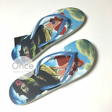 Primark Official DISNEY ARIEL LITTLE MERMAID Ladies Flip Flops Thongs Sandals