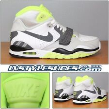 Nike Air Trainer II SC White Grey Lime Max Bo Jackson 443575-102 8.5 12 DS