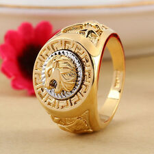 Men's Lion Eagle Star Band Punk Finger Knuckle Ring Fashion Accessories Stylish