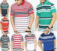 Fila Multicoloured Striped Polo T-Shirt