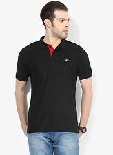 Fila Marzia Black Polo T-Shirt