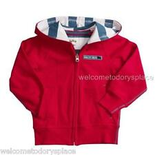 HATLEY Boys RED Full Zip Hoodie Sweatshirt SAILING DOGS Brand NEW NWT Size 5