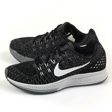 Nike Wmns Air Zoom Structure 19 Black/White-Dark Grey Running Shoes 806584-001