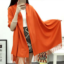 2016 Cashmere Scarf Pure Color Warm and Fashionable Cashmere Lady Scarf 200x60cm