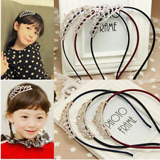 Charming Baby Girl Hair Accessories Princess Tiaras Crowns Butterflies Hairband