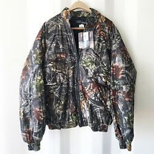 New WFS Element Gear Camouflage Mens Zip up Camo Hunting Jacket NWT