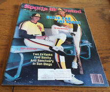 APR 16, 1984 SPORTS ILLUSTRATED CRAIG NETTLES AND GOOSE GOSSAGE IN SAN DIEGO