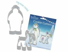 The Snowman & The Snowdog Cookie Cutter Set Biscuit Baking Party