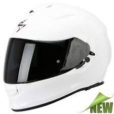 Scorpion EXO-510 AIR SOLID Motorcycle Full Face Helmet Touring - white