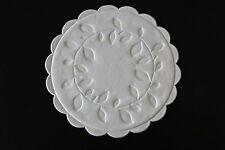 25, 50 or 100 Plain White Paper Coffee, Drinks, Cocktail Glass Coasters - 9cm