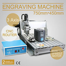 3 AXIS CNC ROUTER ENGRAVER ENGRAVING MACHINE DRILLING MILLING 6040Z CUTTER TOOL