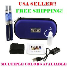 eGo T CE4 2pk Starter Vape Kit Matching Case mod 1100 mAh Battries USA Seller!