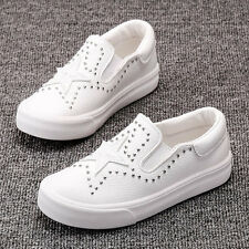 New Autumn Children's Sports Shoes Girls Boys leather Shoes Slip-On Casual Shoes