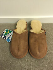 Chic Empire Ugg Ridge Sheepskin Scuffs Slippers Chestnut / Australian Made