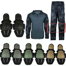 Military Airsoft Tactical Combat Uniform Set Protective Gear Knee & Elbow Pads
