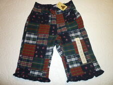 Girls Gap Patch Work Cotton Pants Size 0-3 Months BNWT