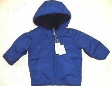 Baby Boy Gap Reversible Cozy Windbreaker Jacket BNWT 0-6M $50