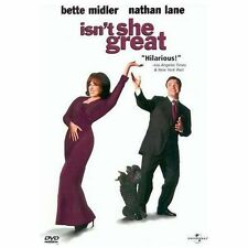 Isn't She Great (DVD, 2000) Bette Midler Nathan Lane Stockard Channing
