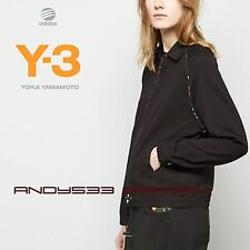 $360 Y-3 Yohji Yamamoto adidas Women Resort Jacket Sweat Shirt Bomber Top Cotton