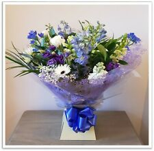 FRESH FLOWERS Delivered New Arrival Baby Boy / Baby Girl,  Selection Bouquet