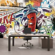 WALL MURAL WALLPAPER PHOTO ART DECOR DESIGN Street Style Graffiti - 2 Sizes