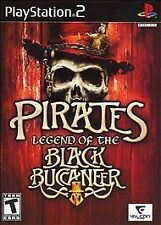 PIRATES LEGEND OF THE BLACK BUCCANEER PS2 SONY PLAYSTATION 2 DISC ONLY B3