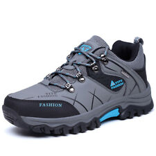 Mens Spring Big Size Trail Hiking Shoes Waterproof Shock Absorb Outdoor Shoes