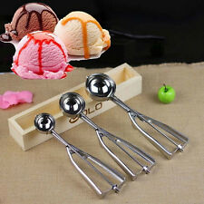 4/5/6cm Stainless Steel Spoon Craft Muffin Cookie Dough Mash Ice Cream Scoop