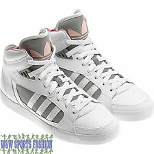 adidas Originals Amberlight Womens Trainers Basketball Shoes - WHITE