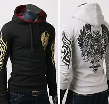 Hot Mens Fashion Slim Fit Sexy Top Designed Hoodies Jackets Coats Shirts