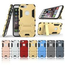 Shockproof Hybrid Heavy Duty Armor PC Case Stand Cover for Apple iPhone 7/7 Plus