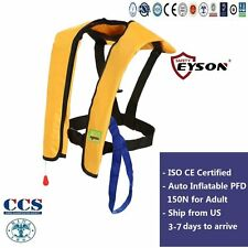 PFD Life Saving Jacket Vest Auto Inflatable 150N Professional Eyson for Adult