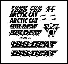 Arctic Cat Wildcat Decals Hood Fender Door Graphic Kit 1000 700 1000X Graphics