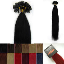 """100s Fusion Pre Bonded Nail/U Tip Remy Human Hair Extensions Straight 16-26"""""""