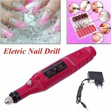 Electric Nail Drill Bits 6 File Tool Set Machine Acrylic Art Manicure Pen Shaper