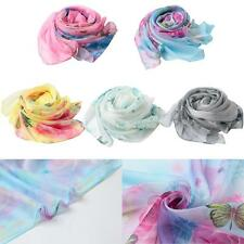 Women Long Soft Stole Scarves Scarf Wrap Shawl Silk Pashmina Hot Cover UP T6M2