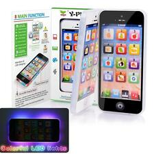 YPhone Educational Toy Play Cell Phone with USB Recharable for Kid Children ww