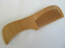 "5.5"" LENGTH NATURAL WOOD HEATHLY HAIR COMB BRUSH DETANGLER LIGHT WEIGHT UKSELLER"
