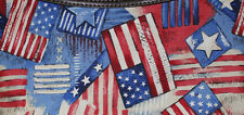 PATRIOTIC FLAG 4TH OF JULY *SKIRT ONLY* FOR THE THRITY ONE BRAND SKIRT PURSE