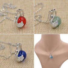 Necklace Perfume Bottle  Pendant Vial Jewelry for Essential Oil Empty Fragrance
