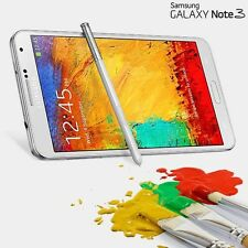 UNLOCKED Samsung Galaxy Note 3 III SM-N900A AT&T 32GB White Global GSM LTE Phone