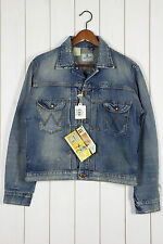 NEW WRANGLER BLUE BELL 11MJ  DENIM JACKET VINTAGE {lee} 101 L LARGE