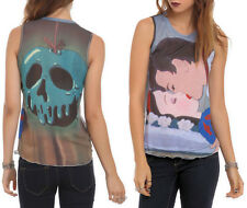 NEW Disney Princess Snow White Deadly Kiss Prince & Poison Apple JRS. Tank Top