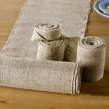 Wedding Table Decoration Table Runners Sewed Edge  Vintage Shabby Chic 1 Meter