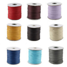 Cotton Waxed Making String Beading Thread Cord Roll 190 Yard for Beads Jewelry
