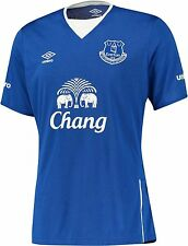 Mens EPL Everton FC Home Soccer Football Shirt Jersey New/Tags Size S