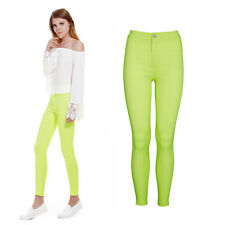 Women Stretch Candy Pencil Pants Casual Slim Fit Skinny Jeans Trouser Sexy Pants